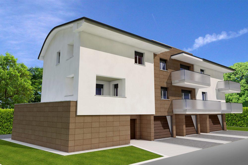nuova costruzione condominio correggio